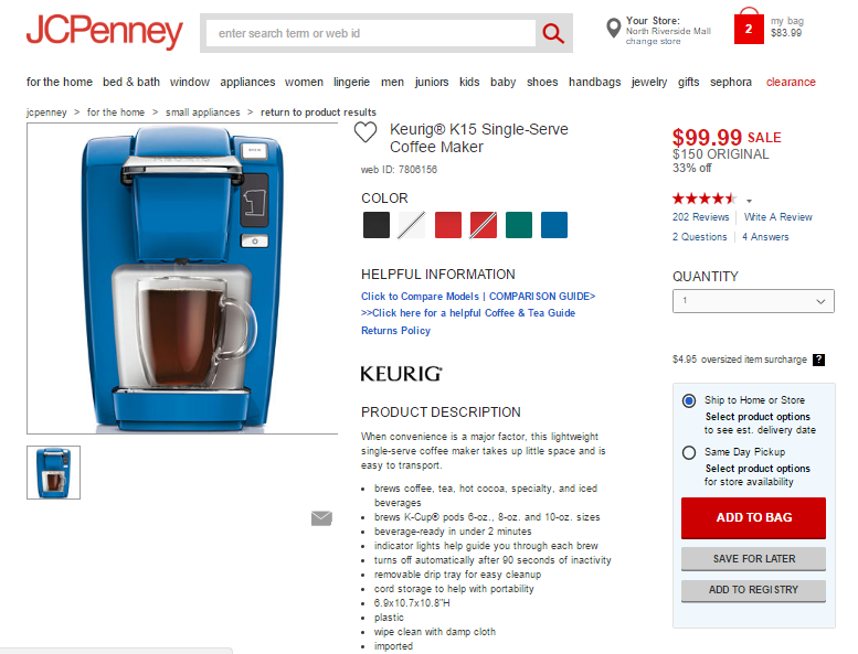 How to place an order at jcpenny