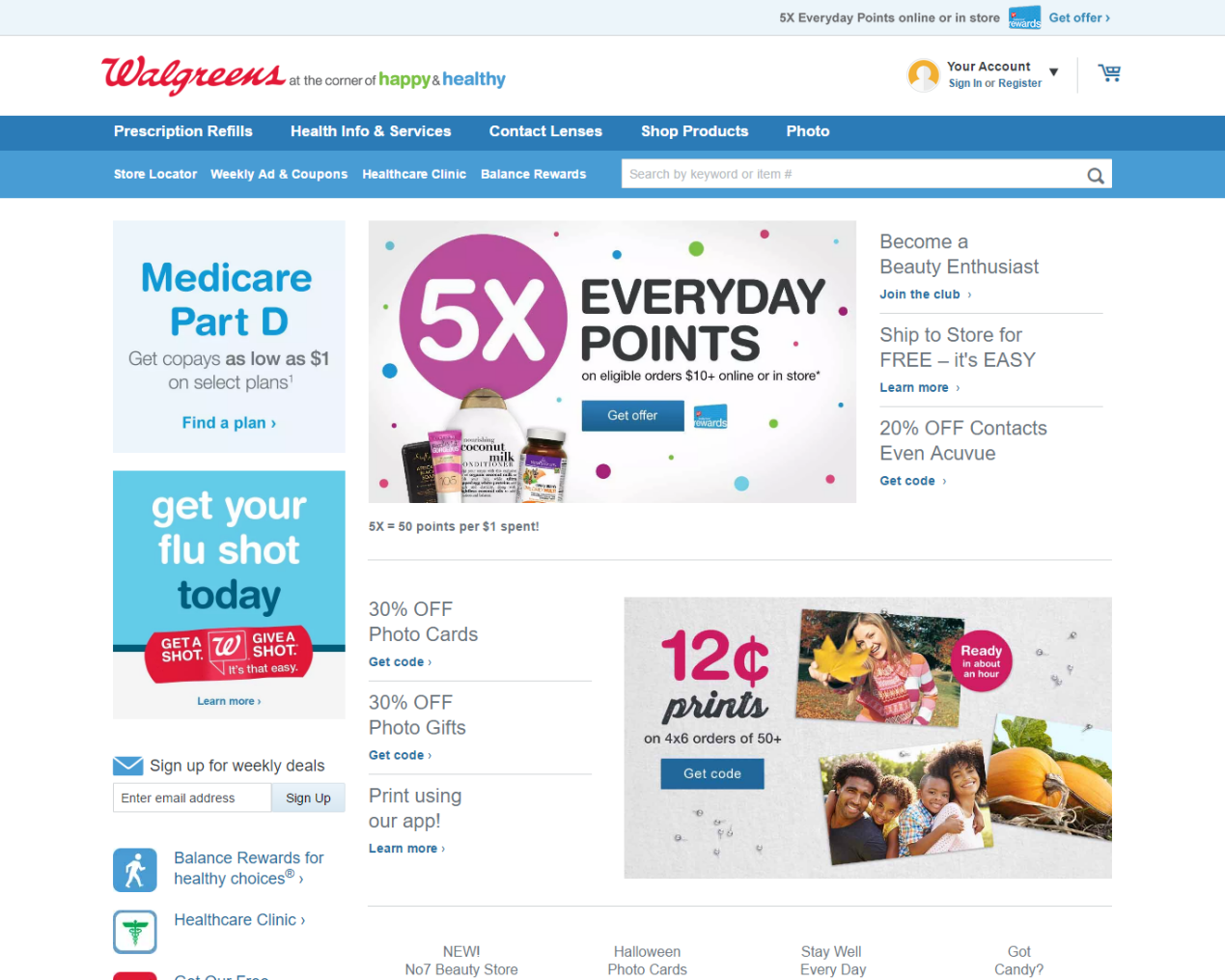 Walgreen Products