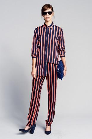 Banana Republic Vogue striped pinsuit