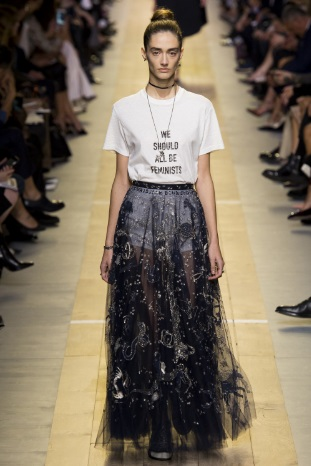 Christian Dior Hermes slogan t shirt