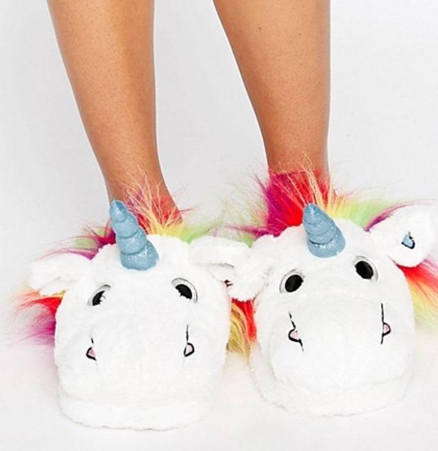 ASOS unicorn slippers