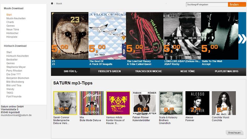 Saturn Downloadshop