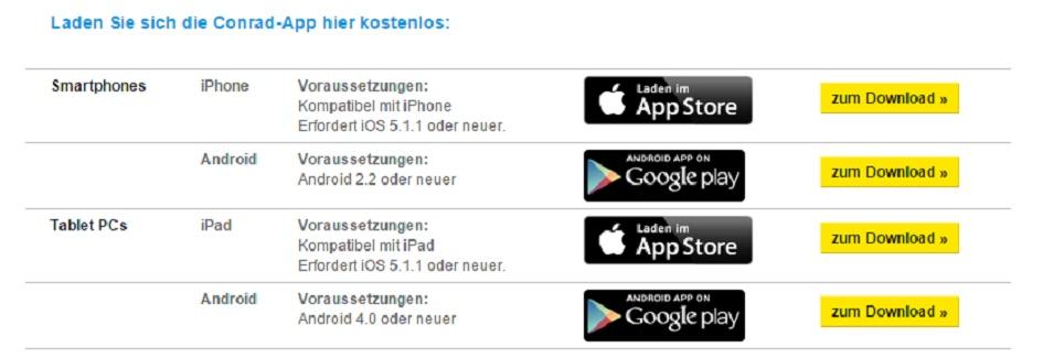 Conrad App Store