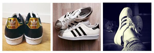 Adidas product variety