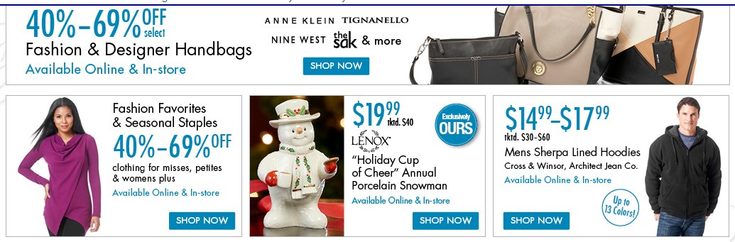 Boscov's Department Store products