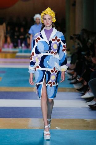Miu Miu Vogue flower dress