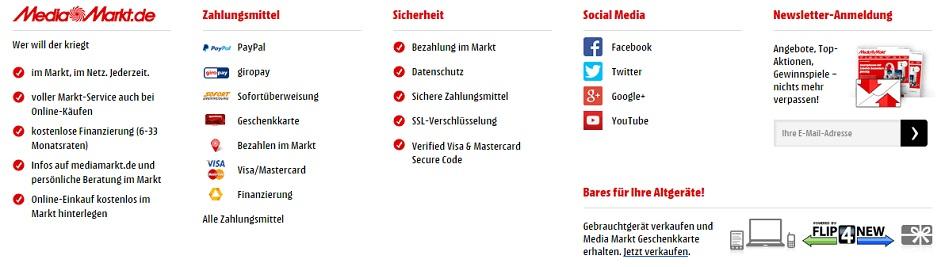 Media Markt Newsletter